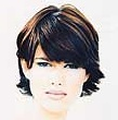 Evening and daytime short haircuts for women