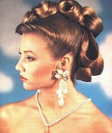 a touch of classic hair styling