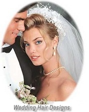 Wedding party and bridal hairstyles at Raphael International